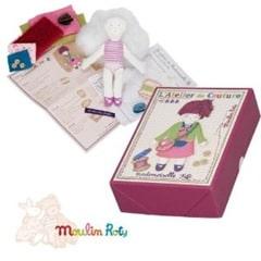 Kit de couture hiboux pour enfants for Kit boite a couture
