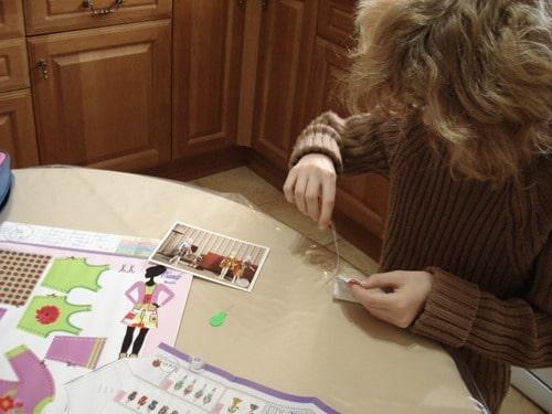 Kit couture poupée barbie