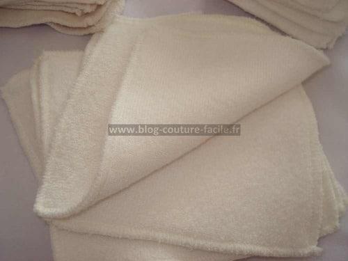 lingette lavable bambou