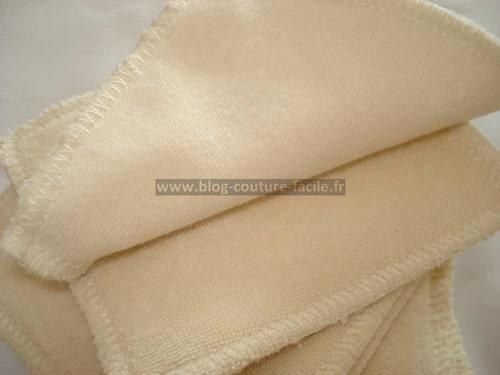 lingette lavable coton bio