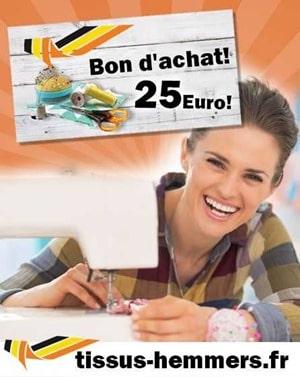 concours tissus hemmers 25 euros en bon d achat gagner. Black Bedroom Furniture Sets. Home Design Ideas