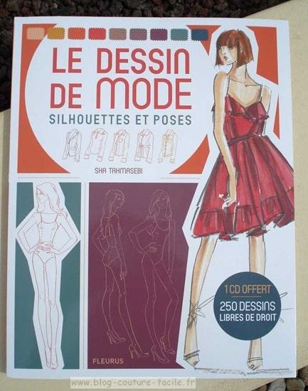 Le dessin de mode silhouettes et poses