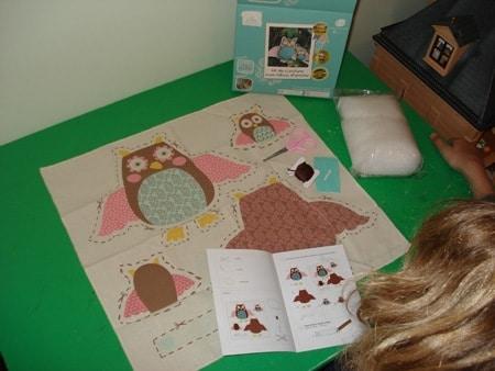 kit couture hibou