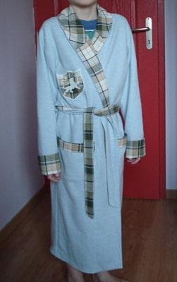 Peignoir burda - Patron gratuit robe de chambre femme ...