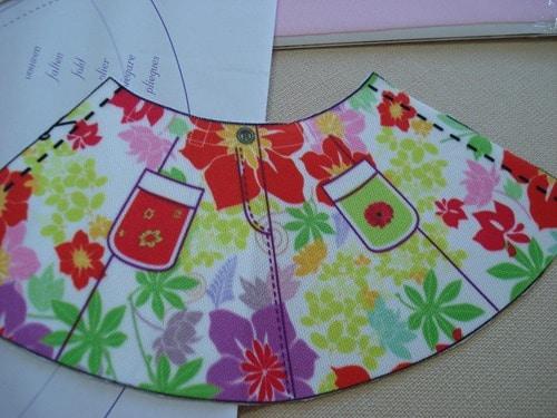 kit couture vêtement poupées