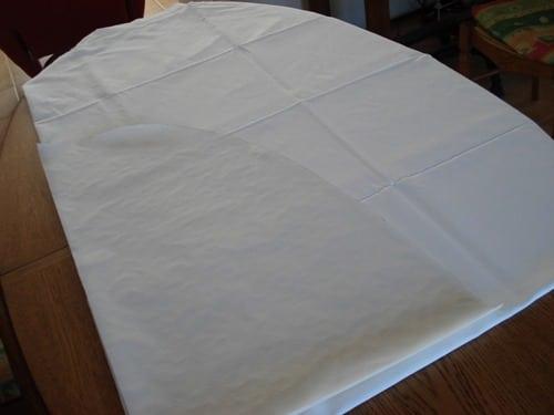 patron couture nappe rectangulaire