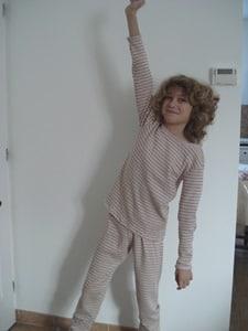 pyjama couture fait main