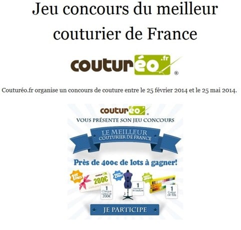 Concour couture