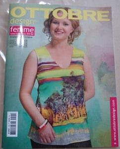 Ottobre Design Femmes ete 2014 catalogue