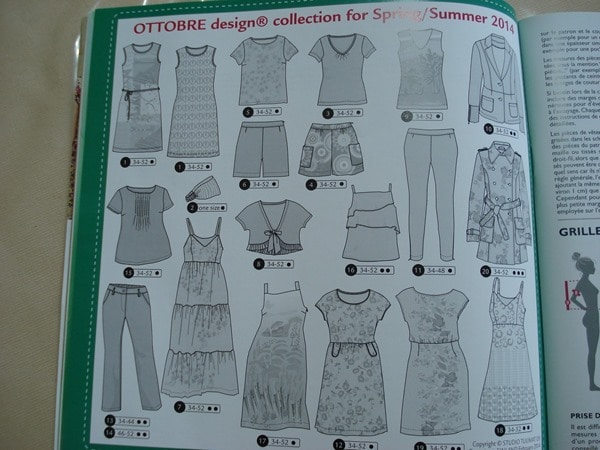 Ottobre Design Femmes ete 2014