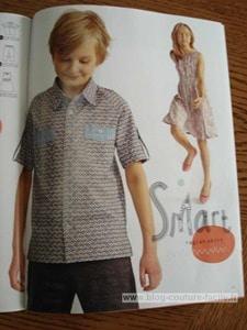 Ottobre chemise à manches raglan garçon