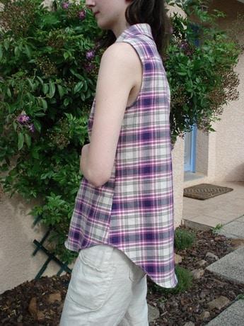 chemise sans manche 34 Ottobre femme ete