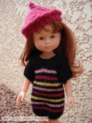 ensemble tricot poupee corolle