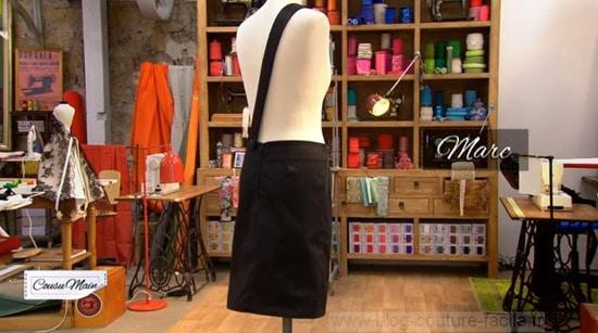 jupe droite Marc