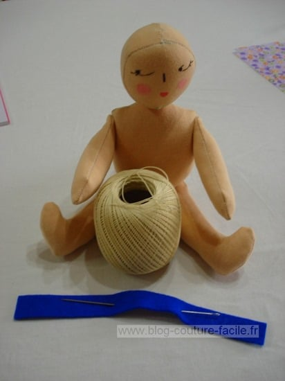 Tutp poupée de chiffon à coudre