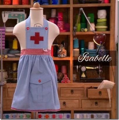 deguisement infirmiere Isabelle