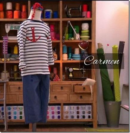 deguisement marin Carmen