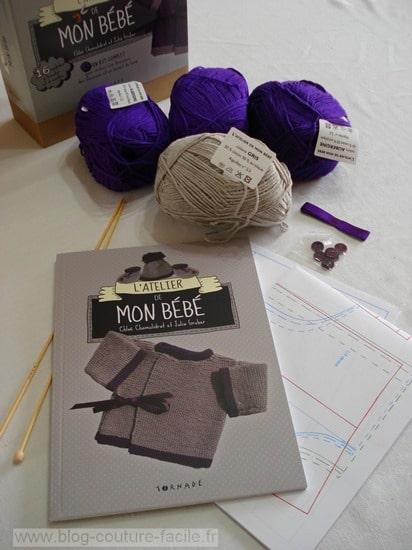 kit couture et tricot bébé