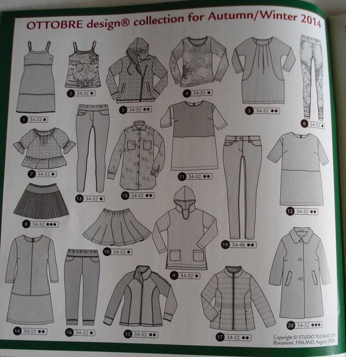 modeles automne hiver femme ottobre