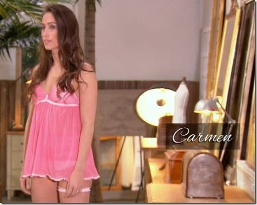 cousu main customisation lingerie Carmen