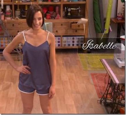 cousu main lingerie Isabelle