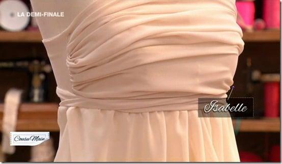 cousu main robe devant sans patron Isabelle