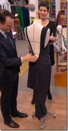 cousu main robe dos sans patron Adelino