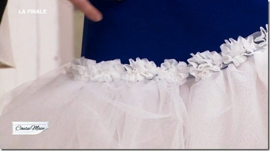 finale M6 cousu main jupe customisée adelino