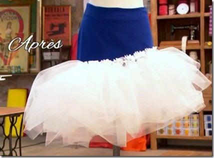 finale cousu main jupe customisée adelino