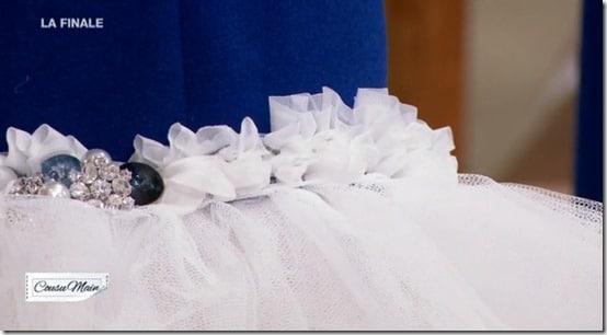 finale cousu main jupe customisée bijou adelino