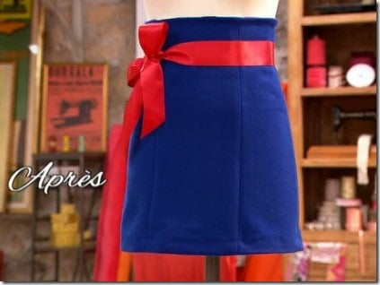 finale cousu main jupe customisée carmen