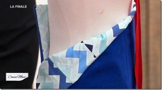 finale cousu main jupe customisée interieure carmen