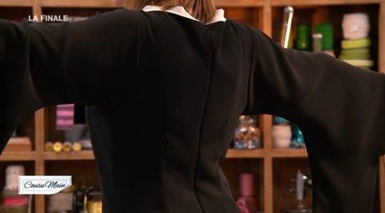 robe soirée finale dos cousu main Carmen
