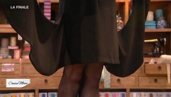 robe soirée longueur finale cousu main Carmen