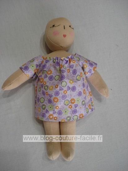 robe poupee de chiffon