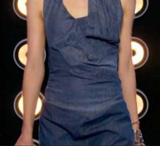 Projet Fashion devant robe glamour Matias