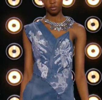 Projet Fashion devant robe glamour Tara
