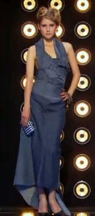 Projet Fashion dos robe glamour Matias