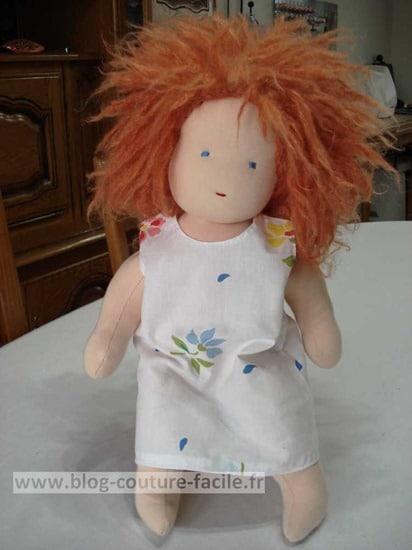 robe poupée chiffon waldorf