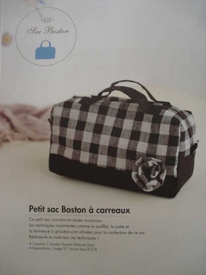 Petit sac Boston jolis sacs