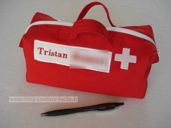 Trousse de secours personnalisee