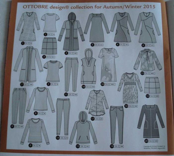 collection ottobre automne hiver femme