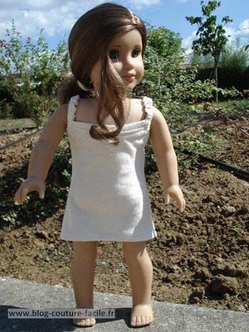 devant fond de robe american girl
