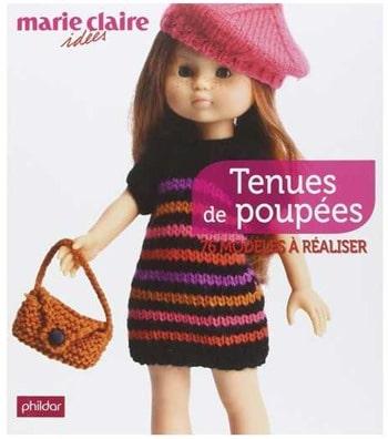 livre tenues de poupées à réaliser