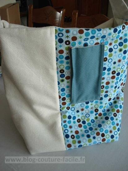 pochette téléphone sac tissu
