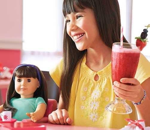 restaurant poupée american girl