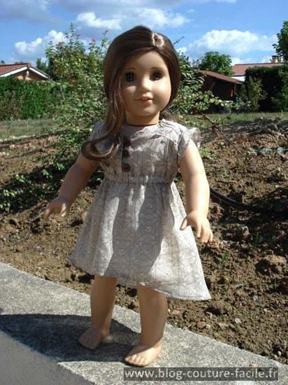 robe pour poupee american girl