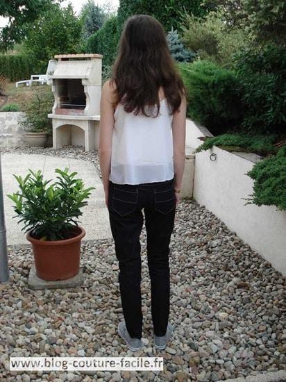 jamie jeans poche arrière