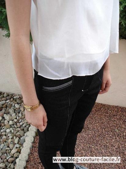 jamie jeans poche devant