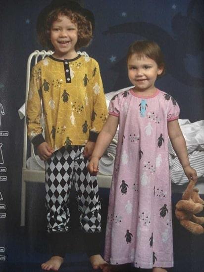 pyjama cousin jim's ottobre